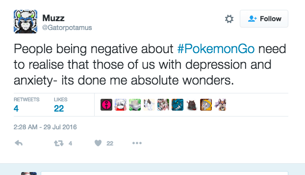 pokemon go depression